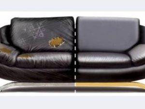 Перетяжка кожаного дивана в Сергиевом Посаде