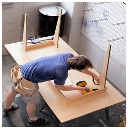 Сборка столов по низким ценам в Сергиевом Посаде от специалистов