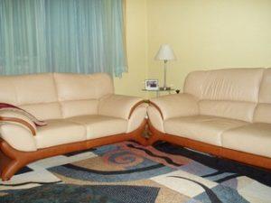 Перетяжка кожаной мебели в Сергиевом Посаде
